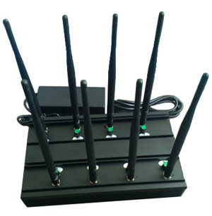 Cell phone disruptor jammer - 4G Cell Phone Blocker - 3G/4G High Power Cell phone Jammer with 6 Powerful Antenna