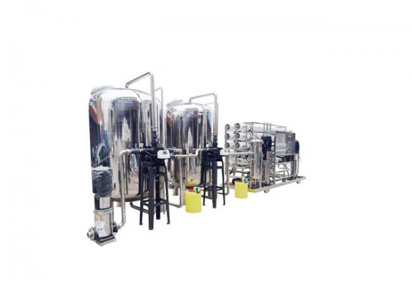 Quality Stainless Steel Industrial Water Filter Reverse Osmosis Machine Easy Maintenance for sale