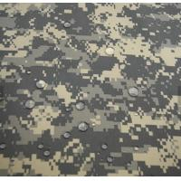 China High quality fashion Waterproof  pvc coated winter snow camouflage fabric wholesale