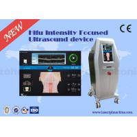 China Professional 3D HIFU Machine 4MHz 7MHz 8MHz 10MHz Face Lifting Device on sale