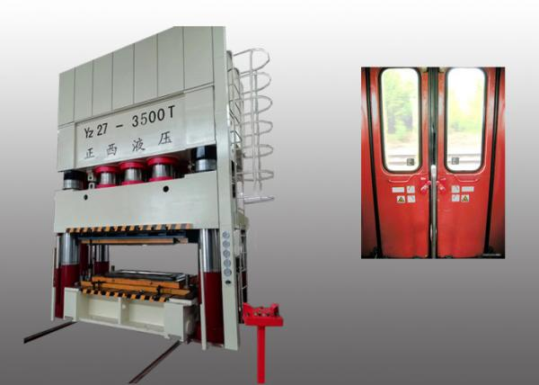 Quality 3500T Deep Drawing Double Action Power Press Hydraulic Type Thick Plate for sale