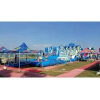 Buy cheap Backyard Big Amazing Inflatable Water Parks Kid And Adult Outdoor Games from wholesalers