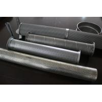 China Aluminum Welded Perforated Metal Pipe wholesale
