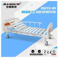 China Single Crank One Function Manual Hospital Patient Bed , Manual Adjustable Bed wholesale