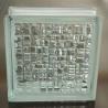 China Blocs en verre sans couleur de la mosaïque 190x190x80mm Jinghua wholesale