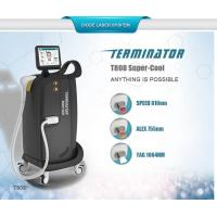 2017 Hottest 810nm 755nm 1064 nm permanent hair removal /skin rejuvenation diode laser machine