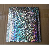 China Recycled Holographic Bubble Envelopes Decorative Mailing Bags Self Sealing wholesale
