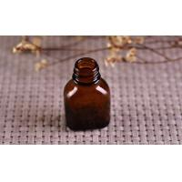 China Color Coating Amber Glass Cosmetics Essential Oil Bottle With Dropper wholesale