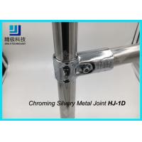 China Chrome Plated Metal Joint Anti-static For ESD Creform Pipe Workbench HJ-1D wholesale