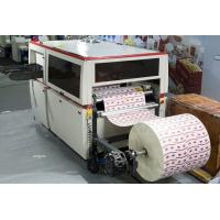 Buy cheap Roll Paper Automatic Die Cutter , Commercial Die Cutting Machine With Creasing Embossing from wholesalers