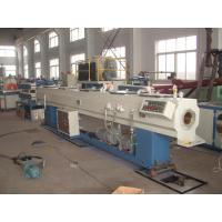 China 20-63mm Plastic PVC Pipe Extrusion Line Machinery With Self Extinguishing wholesale
