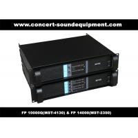PA Sound Equipment , 4x1300W 8ohm High Power Output Switching Amplifier FP 10000Q