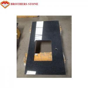 China Large Flamed Granite Stone , G654 Padang Dark Granite Countertops on sale