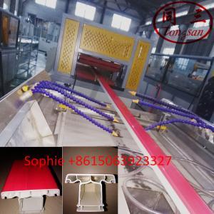 China UPVC window profiles co-extrusion making machine manufacturer price on sale