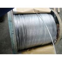 China Smooth Surface Galvanized Aircraft Cable , Wire Rope Galvanized Steel For Highways wholesale
