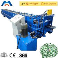 China Galvanized Steel Iron Door Frame Roll Forming Making Machine PLC Control 18 Stations wholesale