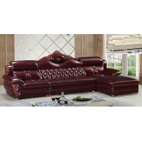 China A38;  L shape genuine leather sofa, modern home furniture,office furniture, living room furniture, China sofa wholesale