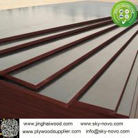 China Brown film face plywood 18mm shuttering boards/formwork wholesale