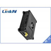 China Digital COFDM Video Wireless Transmitter 1W DC12V H.264 VideoCompression With 10.1 Inch Video Receiver wholesale