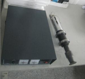 Buy cheap アナログの発電機が付いている強力な超音波金属の溶接装置の超音波の金属の溶接工 from wholesalers