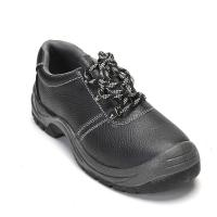 China Men's Safety shoes with Steel Toe men's low cut safety footwear black wholesale