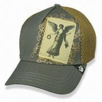 China Promotional Caps, Available in Different Colors and Sizes wholesale