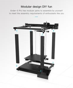 China Ender 5 Pro 3d Printer with High Precision and Low Price Suitable for Large Laminates can Print High-Quality Model Desig wholesale