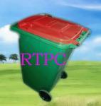 China 240liter plastic garbage bin/trash can wholesale