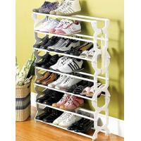 Buy cheap Black, White, Pink 7 Tier Home Plastic Shoe Storage Racks JP-SR4027 from wholesalers