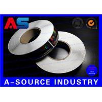 Laser Hologram + CMYK Printing Custom Adhesive Labels Sticker Vial Labels