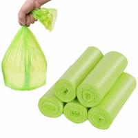 China Non Toxic Compostable Kitchen Trash Bags , 20 Mic Cornstarch Bin Liners wholesale