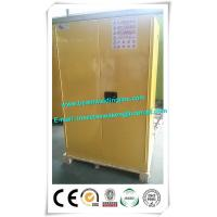 China Manual Close Door Safety Cabinets For Flammables And Combustibles In Yellow wholesale