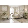 China Unique Mirror Furniture Set For Bedroom Venetian Design Queen Size Bed wholesale