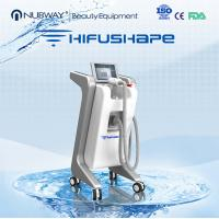 Professional hifu beauty machine / power star hifu cavitation rf vacuum system