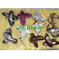 China Holitex Used Women'S Shoes Clean / Comfortable Summer Second Hand Sandals wholesale