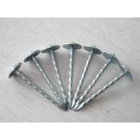 China Galvanized Umbreall Head Roofing Nail  on sale