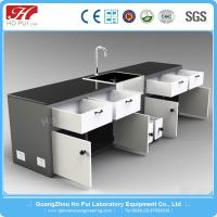 China Commercial Movable Lab Benches , Convenient Chemistry Laboratory Furniture wholesale