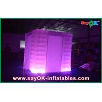 China Square 210D Polyester Cloth Vintage Photo Booth With Led Lighting on sale