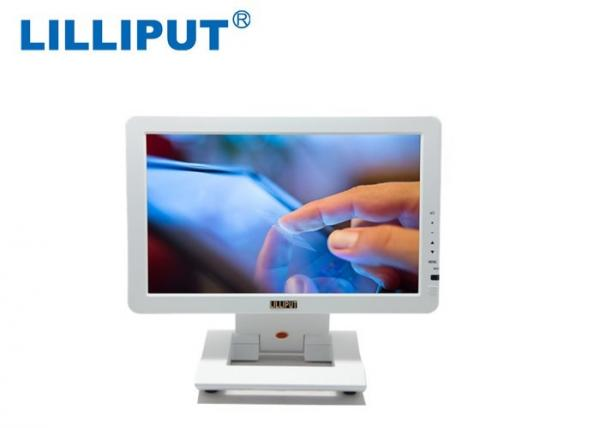 """Quality 10"""" Desktop HDMI Touch screen Monitor WSVGA LCD 4-wire Resistive Touch Panel for sale"""