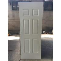 China 2150mm heigh White Primer HDF Door Skin , Environmental Friendly, Model 3 wholesale