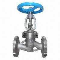 China Stainless Steel Globe Valve with Metal Seat, Flanged Ends and ANSI, DIN and BS Standards wholesale