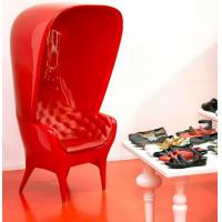 Hat Style Fiberglass Arm Chair Modern Relaxing Durable FRP For Leisure