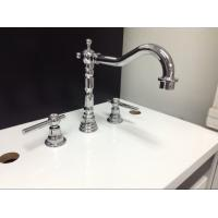 China Three Holes Installation Kitchen Tap Faucets Made of Low - Lead Brass wholesale