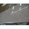 China Brown Solid Granite Worktops High Strength Natural Granite Raw Material wholesale