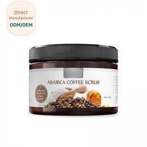 China Coconut Milk Natural Exfoliating Scrub Moisturizing Feature Customized Color wholesale