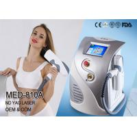 China 1064 ND YAG 532 KTP Q-Switched ND YAG Laser Tattoo Removal Machine Pigmentation Removal wholesale