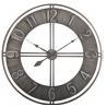 China Hollow Metal Arab Numbers Wall Clocks American Country Fashion Decoration Metal Natural Wall Clock wholesale