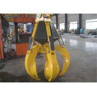 China High Efficient Orange Peel Electro Hydraulic Grabs 17 Ton - 23 Ton wholesale