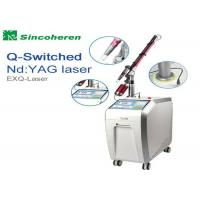 China FDA Approved Q Switched Nd Yag Laser Machine For Pigmentation Removal wholesale
