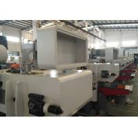 China Working Width 450mm Double Side Planer Automatic Lubrication For Feeding Chain wholesale